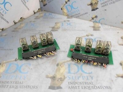 Elox 319668 Relay Assembly Pcb Board Lot Of 2