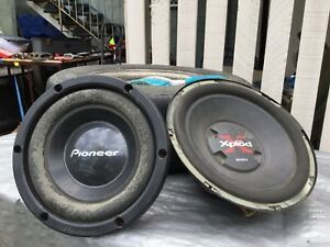 2 Sub woofers in fair condition Kedron Brisbane North East Preview