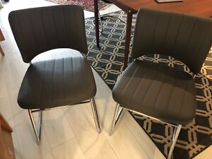 """Structube """"Lee"""" Dining Chairs"""
