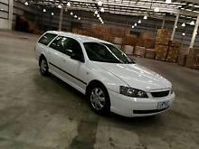 2003 Ford Falcon Wagon BA, Auto with Rego & RWC - Backpacker Footscray Maribyrnong Area Preview