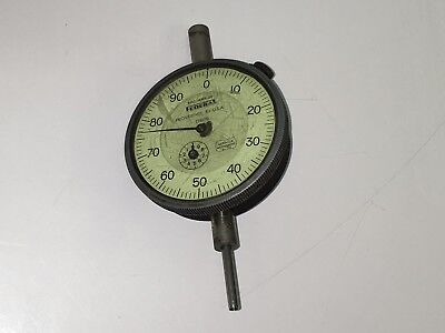 Federal D81s Jeweled Bearing Machinist Dial Indicator .001 0-1.000 Inch Range