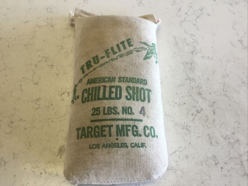Tru-flite American Standard #4 Chilled shot (Full 25 pound bag)