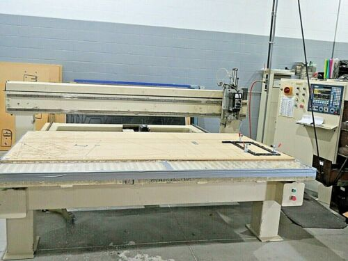 Autorout Inc CNC Routing Table with Routing Spindle, Fagor Control, and Vacuum