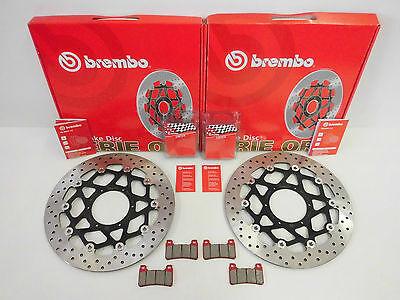 Brembo Bremsscheiben vorne + Bremsbeläge Honda CBR 1000 RR Fireblade SC57 06-07
