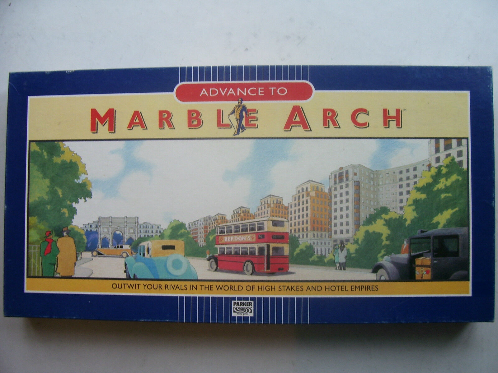 Marble Arch Game By Parker 1985  (Sealed and Unplayed)