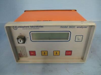 Orbisphere Laboratories Analyzer 3600320.e Oxygen Controller Ozone Analyser