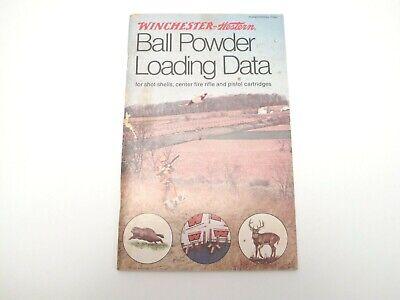 Manuals & Instruction Material - Powder Loading