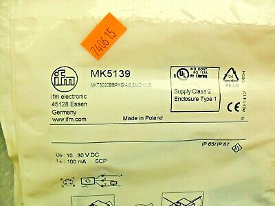Ifm MK5139 Proximity Sensor