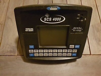 Raven Precision Scs 4000 New Canbus Spray Controller 063-0172-320 Starlink Gps