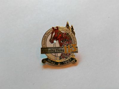 Collector 113th Kentucky Derby Hat Lapel Pin Churchill Downs 12 Pcs Party Favors - Wholesale Derby Hats