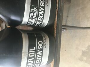 2 - 4 Litres  of G X 80 W-90 Gear Oil