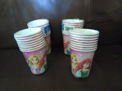 Princess Cups Set of 4 Packs - Princess Cups