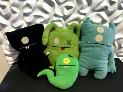 Lot of 4 UGLYDOLL plush stuffed animals