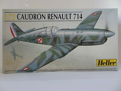 Heller WW2 Caudron Renault 714 1/72 80218 Factory Sealed MINT