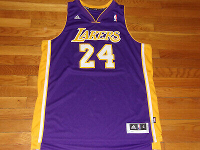 7e3ee753847 ADIDAS LOS ANGELES LAKERS KOBE BRYANT NBA BASKETBALL JERSEY MENS XL  EXCELLENT