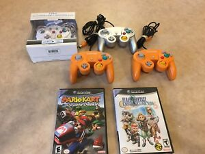 Nintendo GameCube Mario kart final fantasy