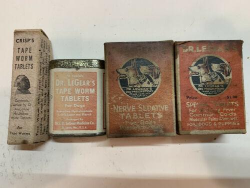Vintage Veterinary Advertising Lot - Crisp