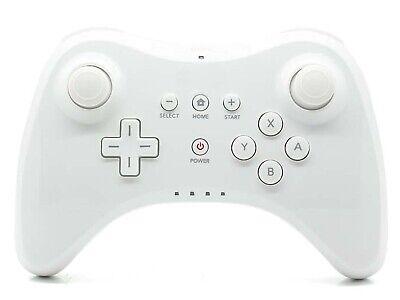 Nintendo Wii U Pro kompatibler Controller Game Pad Gamepad weiss #005