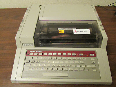 A - Hp 3396a Integrator For Use With Gas Chromatograph Working