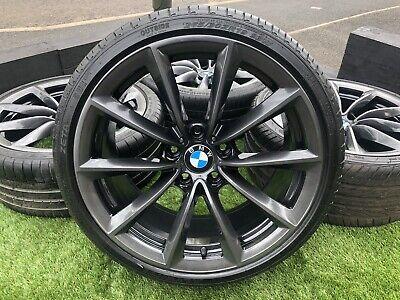 """Genuine 19"""" BMW E89 Z4 Series 296 Style Alloy wheels & tyres 3 Series E90 5x120"""