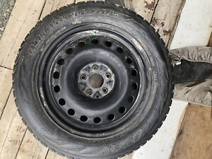 215/60 R17 Jeep Patriot winter wheels and tires