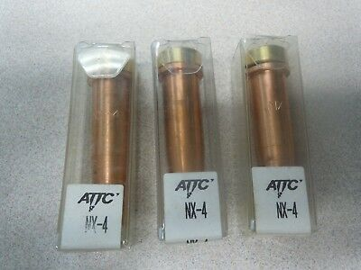 Lot Of 3 Attc Acetylene Torch Tip Nx-4