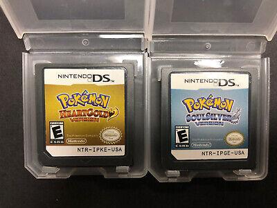 Pokemon Soul Silver Heart Gold Bundle - Nintendo DS