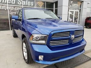 2014 Ram 1500 Sport| Leather| Sunroof| UConnect| Heated Seats
