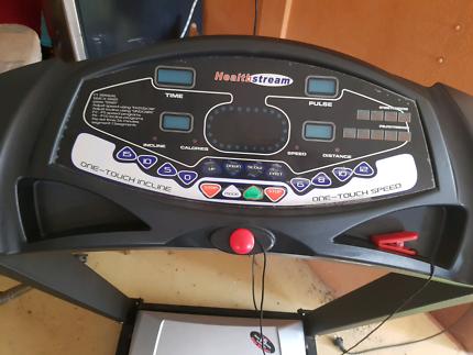 Treadmill healthstream