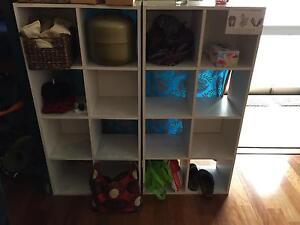 Simple white bookshelves Redfern Inner Sydney Preview