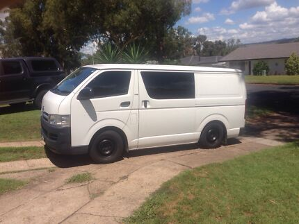 Toyota Hiace 2007 Diesel  Cooks Hill Newcastle Area Preview