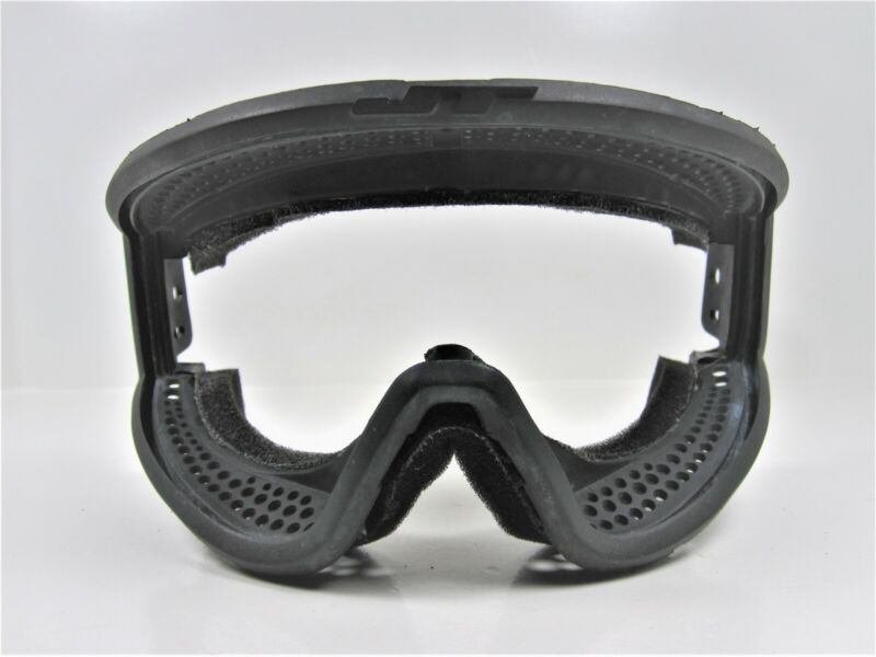 JT SPECTRA THIN MASK FRAME BLACK FOAM GOGGLES ORIGINAL OG PROFLEX SHIELD #2