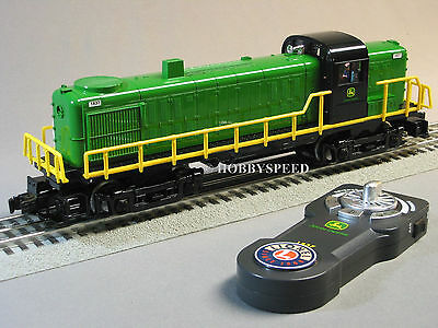 LIONEL JOHN DEERE LIONCHIEF REMOTE CONTROL RS-3 DIESEL 1837 train 6-81480E