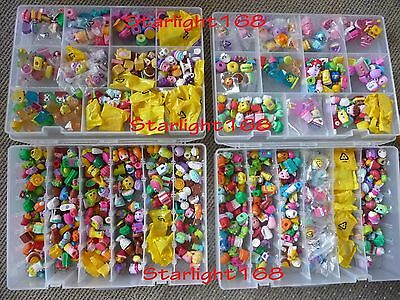 Mixed Lot of 100 Shopkins from Seaons 1-6 - Authentic!