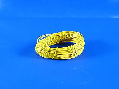 Modellbau Kabel/Litze hochflexibel  10 Meter in gelb