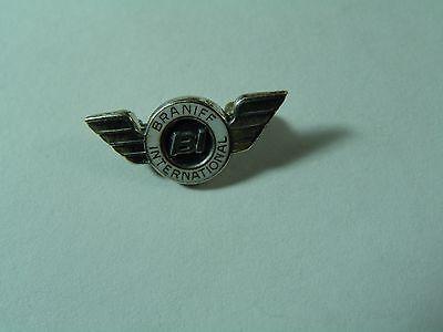 Braniff International Airways Airlines Service Award Pin Sterling Bracelet 925