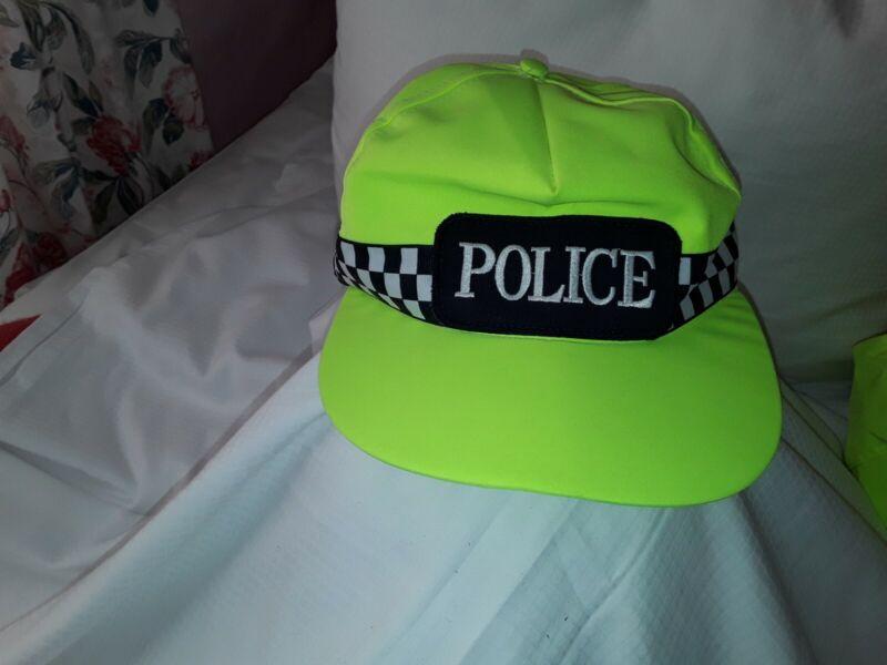 Ex Police Hi Viz Search Team/ Baseball Cap - Size Large -  Large