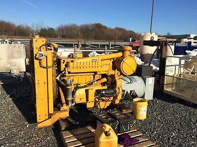 Caterpillar Cat 250kw Generator Genset D343 Engine Baylor Generator 520 Hours