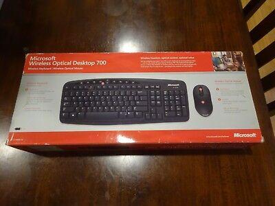 Microsoft Wireless Optical Keyboard/Mouse Desktop 700 Optical Desktop 700 Keyboard Mouse