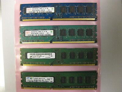8GB ( 4GB x 2 ) DDR3 1333MHz PC3-10600 DESKTOP Memory Non ECC 1333  Low Density