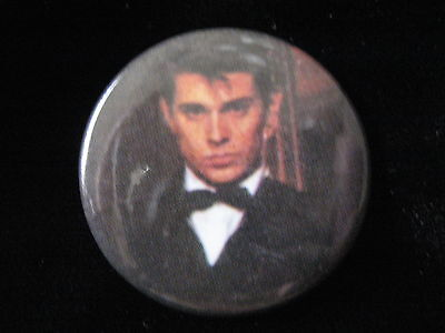 Duran Duran-Roger Taylor-Tux-Pin-Badge-Button-80's Vintage-Rare