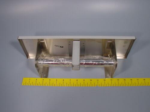 Bobrick B-2840 Stainless Steel Multi Roll Tissue Dispenser w/ Shelf 2840