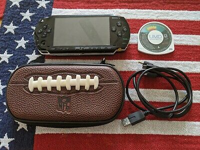 PlayStation Portable PSP 1001 Console, Black + Crash of Titans, (Read Details)