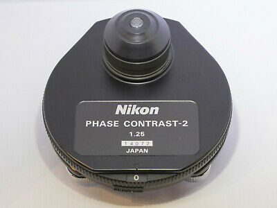 New Nikon Phase Contrast Dark Field Condenser 1.25 Df Ph1 Ph2 Ph3 Ph4