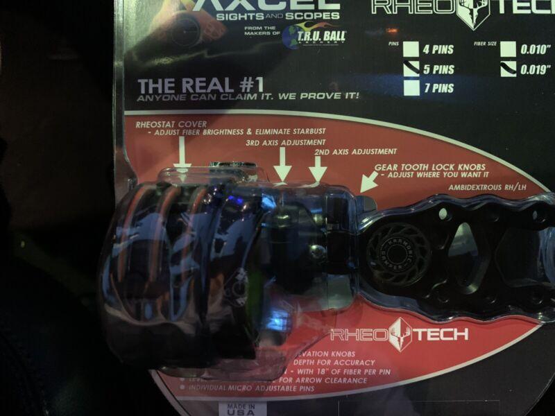 AXCEL TRU BALL 5 PIN sight scope .019 Fiber