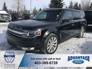 2017 Ford Flex Limited Heated / Cooled Seats - Active Park As...