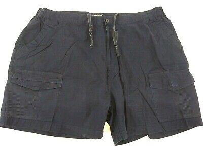 West Marine Mens Boat Mooring Shorts Navy Blue Size XXL Shorts