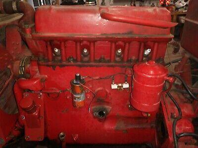 Massey Harris 44 Tractor Engine Mh 277g 4 Cylinder Motor 44s