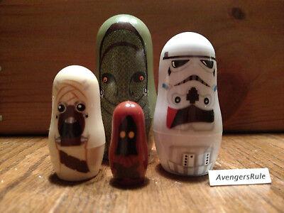 Star Wars Hidden Heroes Nesting Dolls Dewback Sandtrooper Tusken Raider Jawa