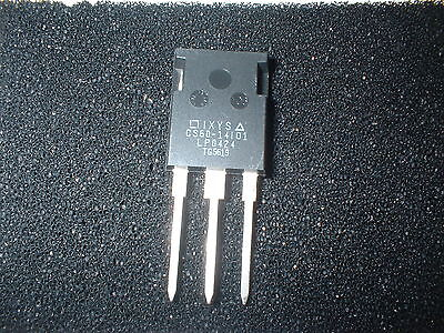 Ixys Cs60-14io1 Scr Thyristor 60 Amps 1400v Box16
